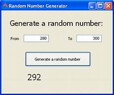 Random Number Generator Chart How To Generate Random Number With Without A Range