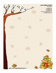 Autumn Stationery Autumn Stationery