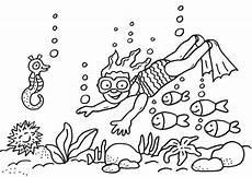 ausmalbilder meereswelt f 252 r kinder malvorlagen
