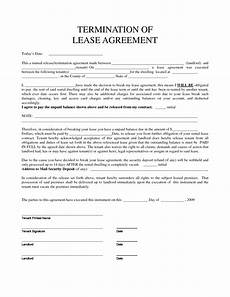 Lease Termination Template Termination Of Rental Agreement Gtld World Congress