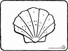 Muschel Ausmalbilder Malvorlagen Ausmalbilder Mit Lerneffekt Kiddimalseite