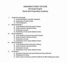 Essay Outline Format Example 25 Essay Outline Templates Pdf Doc Free Amp Premium
