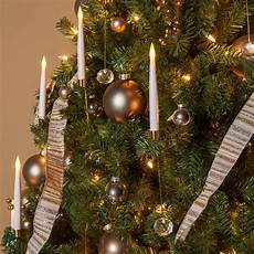 A String Of 15 Christmas Tree Lights Novelty Lights 12 Quot Led Christmas Tree Taper Candles With