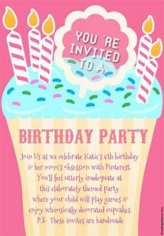 Free Birthday Party Invitations Online Honest Birthday Party Invitations