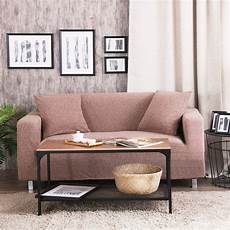 Chocolate Sofa Cover 3d Image by Brown Knitted Sofa Covers 100 Polyester Solid Color