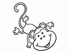 Mono Para Colorear Dibujo De Mono Gracioso Para Colorear Dibujos De