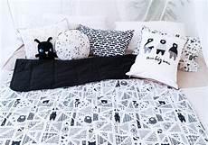 black white baby quilt modern boys blanket nordic toddler