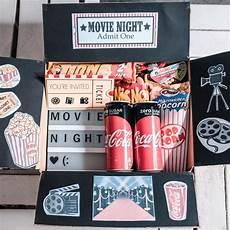 diy geschenk kino box diy gifts geschenke diy