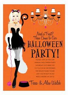 Sample Halloween Invitations Here Kitty Halloween Invitation