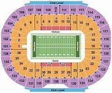 University Of Notre Dame Stadium Seating Chart Notre Dame Stadium Seating Chart Amp Maps Notre Dame