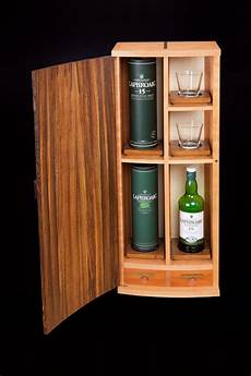 wall hanging coopered liquor cabinet