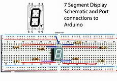 7 Segment Display Chart Engineering Technology Welcome