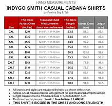 Casual Corner Size Chart Big Amp Men S Burgundy Cabana Shirt By Foxfire