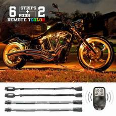 Led Light Kits For Motorcycles 2 Million Color Led Motorcycle Super Bright Leds Neon