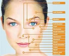 Face Reflexology Chart Reflexology Chart Face Veterans Blog