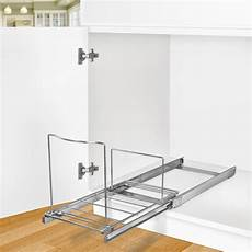 lynk roll out bin holder pull out drawer cabinet