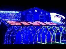 Gangnam Style Lights Gangnam Style Christmas Lights In Fountain Valley Youtube