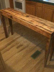 Rustic Wood Sofa Table 3d Image by Made Rustic Pine Distressed Sofa Table By Robert