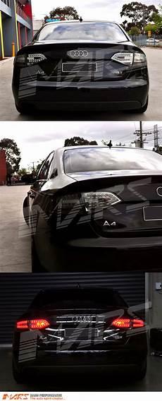 Audi A4 Prnds Lights Smoked Black Led Lights For Audi A4 B8 4d Sedan 08 12