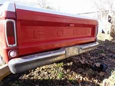 1965 ford f100 custom deluxe 352 3 speed bed runs