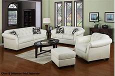 2020 popular white leather sofa and loveseat