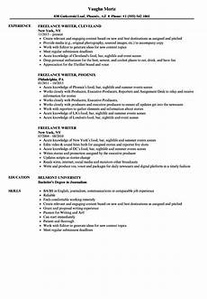 Resume Content Tips Freelance Writer Resume Samples Resume Examples Good