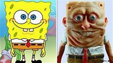 6 personagens de desenhos animados na vida real