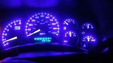 In Dash Led Lights 2001 Chevrolet Tahoe Led Dash Light Conversion Youtube