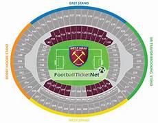 Olympic Stadium London Seating Chart West Ham United Vs Southampton 29 02 2020 Football