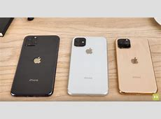 Chinese made dummies of iPhone 11 trio compared in a video
