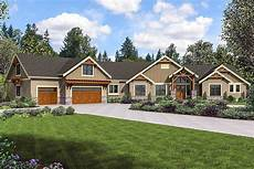 mountain craftsman home plan with bonus room and optional