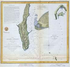 San Diego Bay Depth Chart 1853 Coast Survey Map Nautical Chart San Diego Bay Los