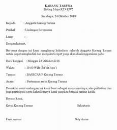 20 contoh surat undangan resmi dari berbagai instansi atau