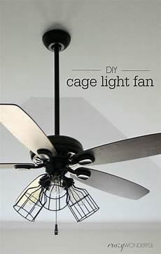Ceiling Fan Light Diy Cage Light Ceiling Fan Crazy Wonderful