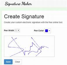 Signatures Online Online Signature Maker Tool Save Signature As Png Image