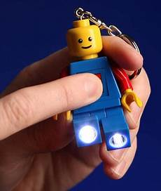 Lego Man Light Up Keychain What To Give A Geek Light Up Lego Keychain