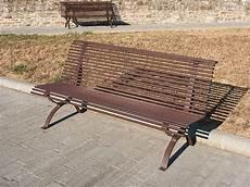 panchina in ferro 120 panchina viareggio per parchi e giardini da