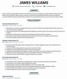 Resume For Bank Teller Position Bank Teller Resume Ipasphoto