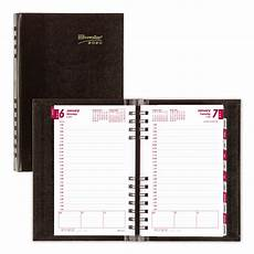 Daily Planner 2020 Brownline Coilpro Daily Planner 8 Quot X 5 Quot Black January