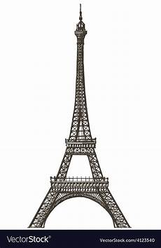 Paris Designs Eiffel Tower Logo Design Template Paris Or Vector Image
