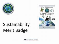 Cooking Merit Badge Powerpoint Sustainability Merit Badge For Boy Scouts