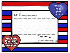 thank you card template for veterans thank a veteran patriotic thank you letter template for