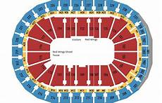 Devils Arena Seating Chart Breakdown Of The Little Caesars Arena Seating Chart