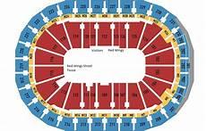 Little Caesars Arena Seating Chart Breakdown Of The Little Caesars Arena Seating Chart
