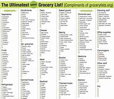 Grocery List Grocery List Free Printable Checklists To Stay Organized