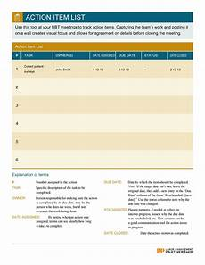 Action Item Template Excel 49 Great Action Item Templates Ms Word Amp Excel ᐅ Templatelab