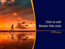 Backgrounds For Power Point Free Running Powerpoint Template Free Powerpoint Templates