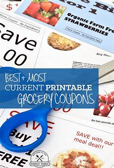 Free Easy Printable Coupons Free Printable Grocery Coupons Welcome To The Family Table