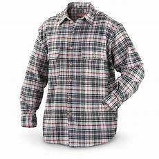 sleeve plaid shirt moose creek brawny s sleeve plaid shirt flannel