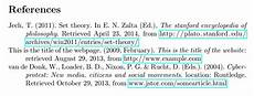 Bibliography Websites Biblatex How To Include The Title Of The Website In